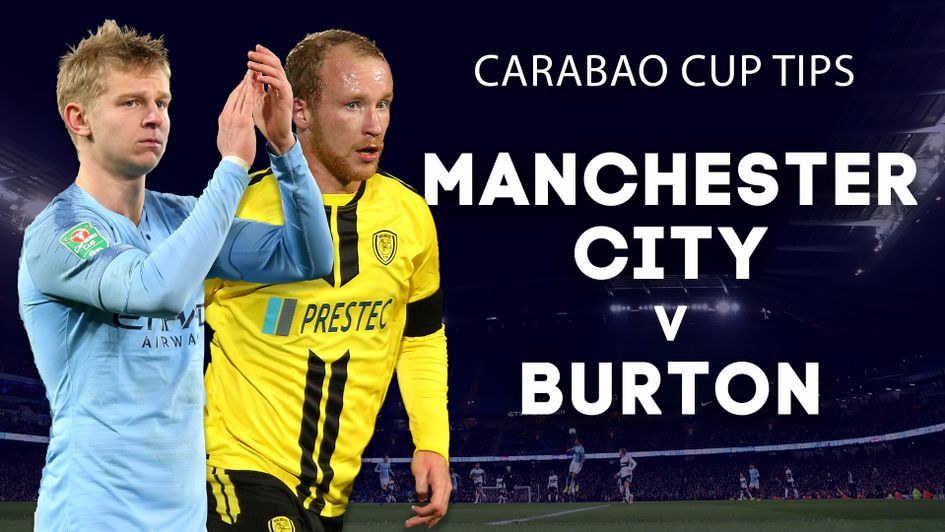 Our best bets for Manchester City v Burton