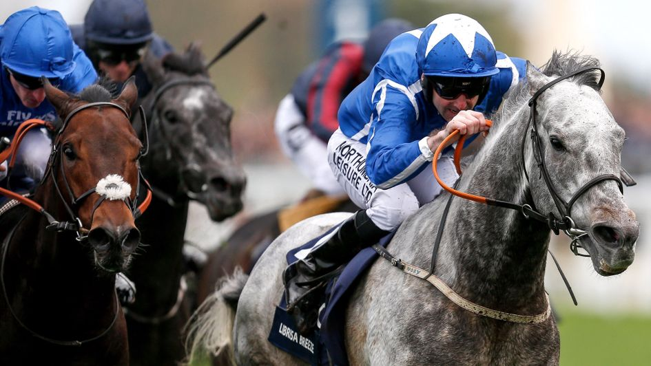 Librisa Breeze bursts past Harry Angel to win the QIPCO British Champions Sprint