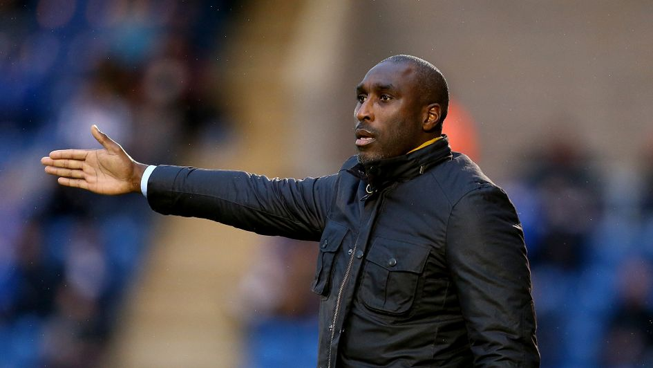 Macclesfield manager Sol Campbell