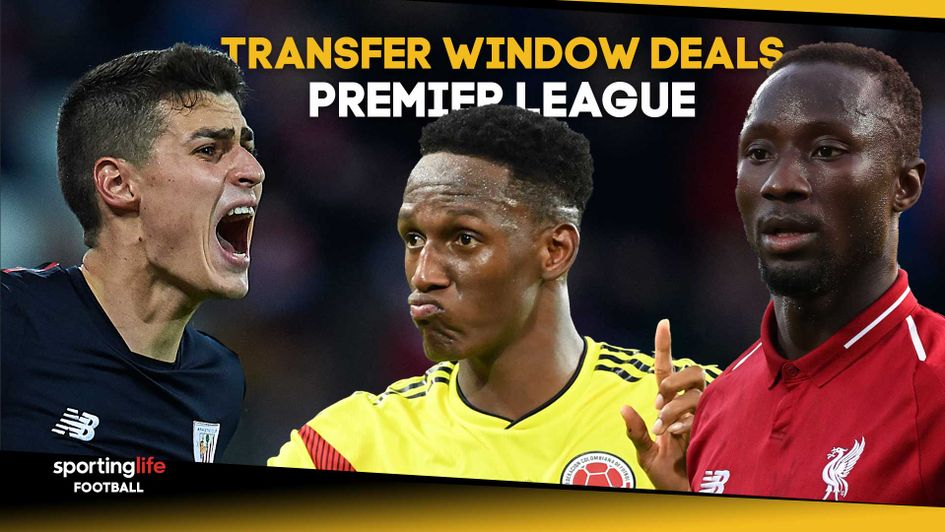 A look at all the deals throughout the transfer window