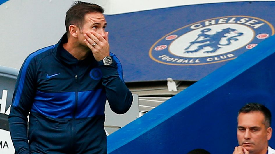 Frank Lampard's Chelsea let a two goal lead slip at home to Sheffield United