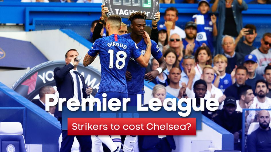 Strikers to cost Chelsea? Olivier Giroud and Tammy Abraham have failed to score in their opening games