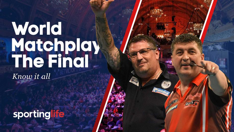 Gary Anderson faces Mensur Suljovic in the World Matchplay final