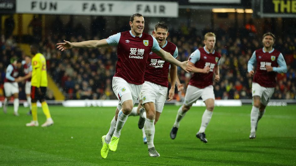 Chris Wood: Burnley forward hitting form in the Premier League