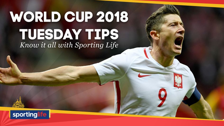 Tuesday's World Cup betting tips