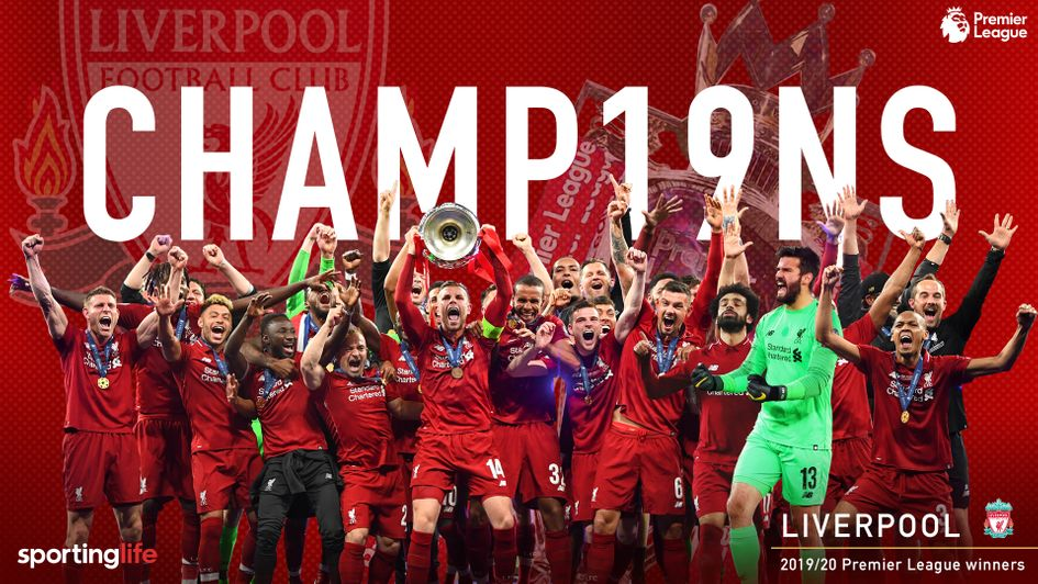 Liverpool win first Premier League title & end 30-year drought ...