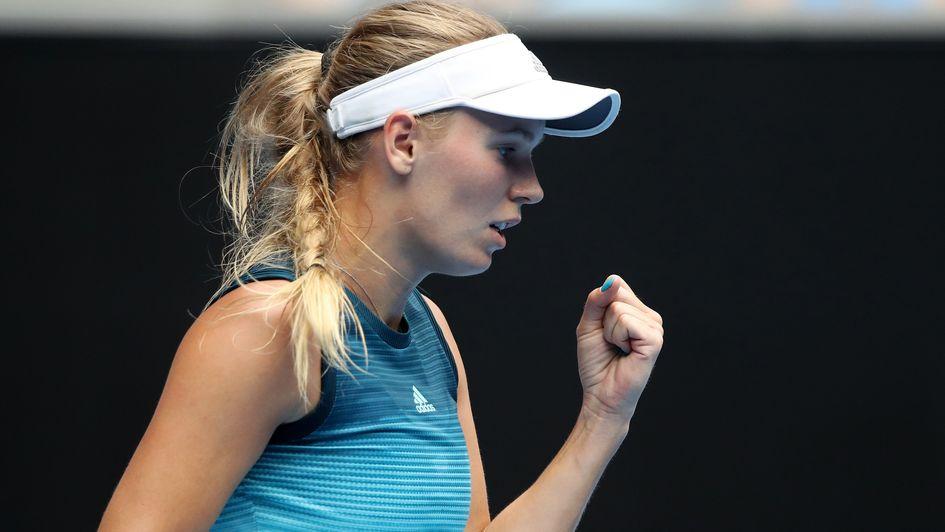Australian Open Tennis Results Caroline Wozniacki Through To Third