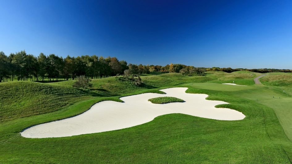 The 14th hole at Le Golf National