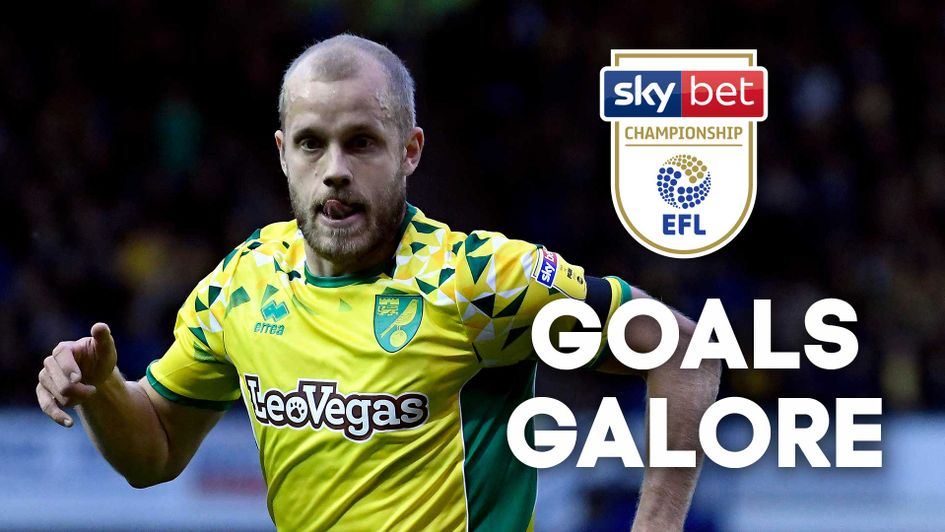 WATCH: All the goals from the Sky Bet Championship as Norwich go top