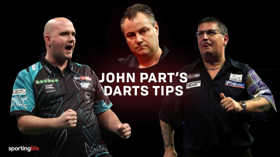 Scroll down for all of John Part's Premier League Darts predictions