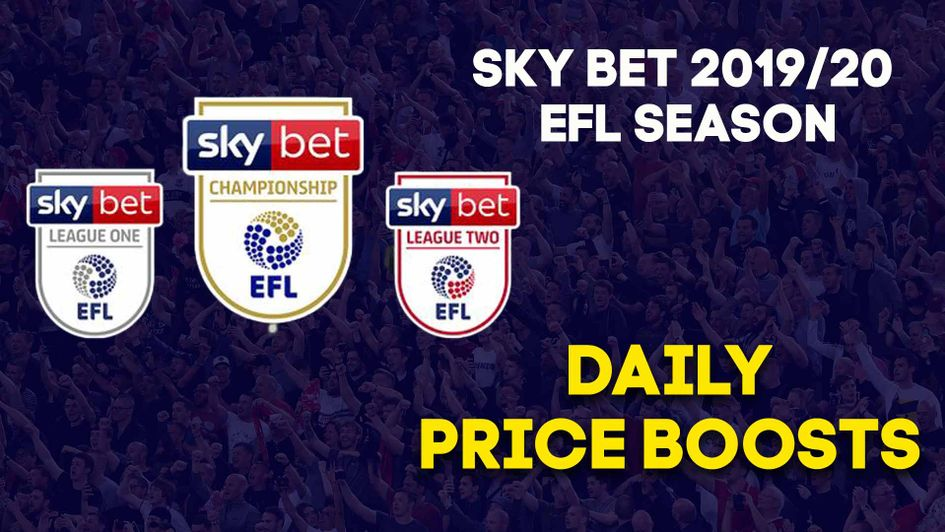 Check out the Sky Bet EFL Daily Price Boosts for the new season