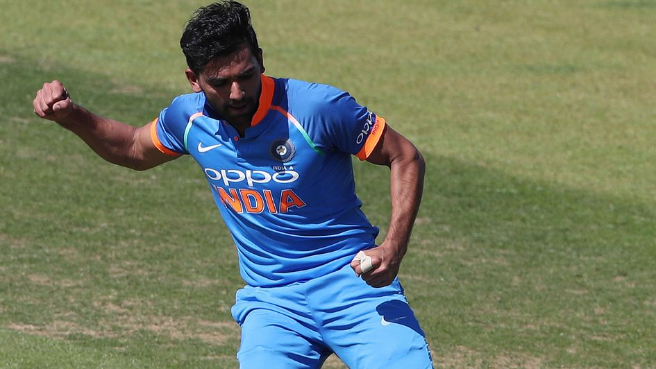 Deepak Chahar - added to India squad