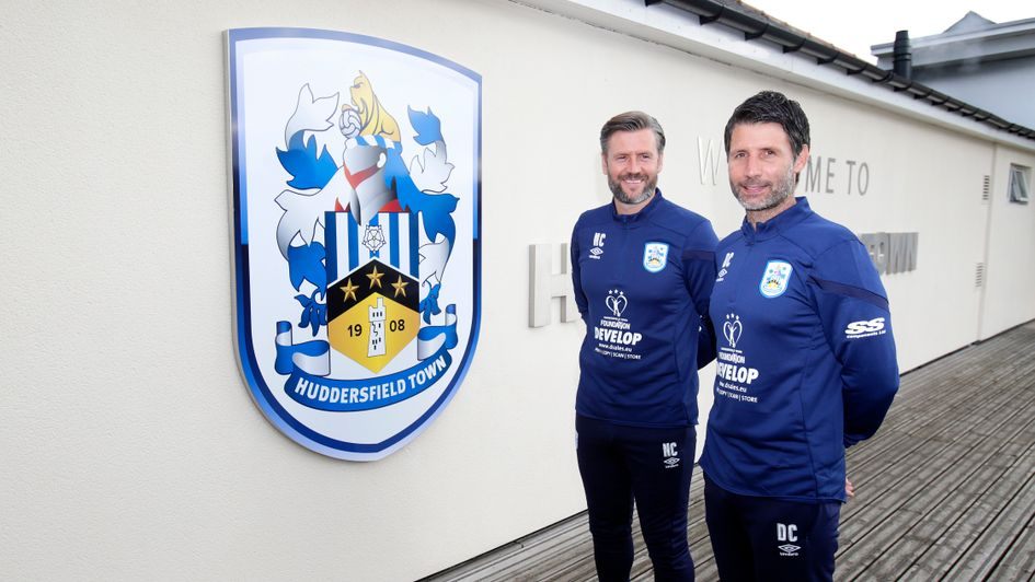 Nicky and Danny Cowley (left to right): Huddersfield's new coaching duo