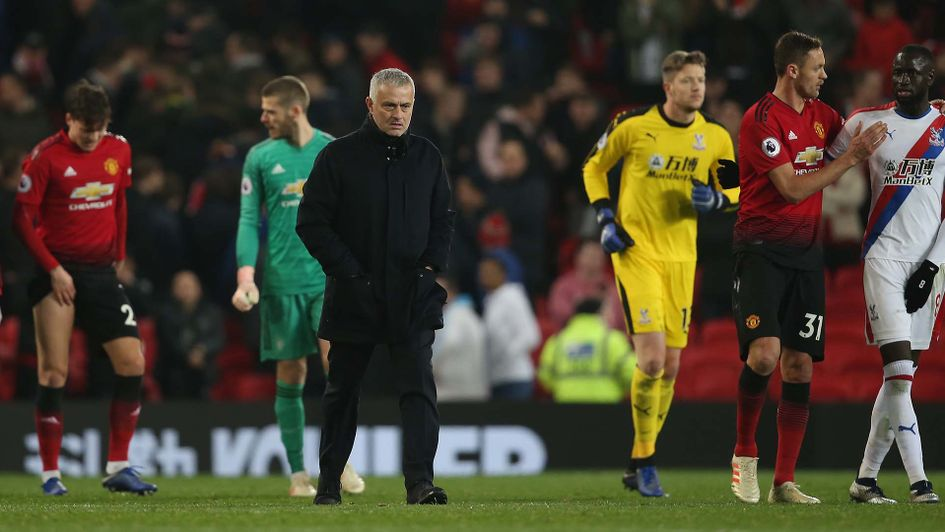 Jose Mourinho was threatened with the move after Manchester United pulled 0-0 with Crystal Palace