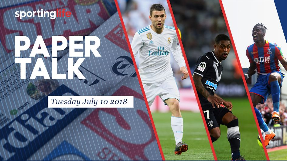 Paper Talk: Mateo Kovacic, Malcom and Wilfried Zaha all feature