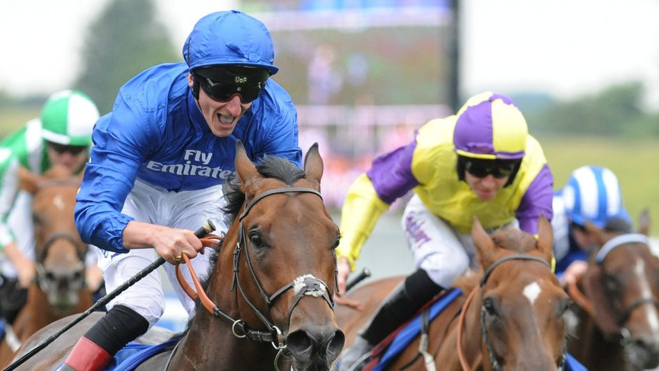 Harry Angel scorches to victory in the July Cup