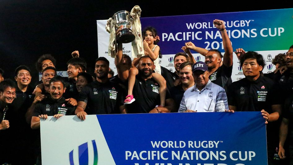 Japan have been crowned Pacific Nations Cup champions