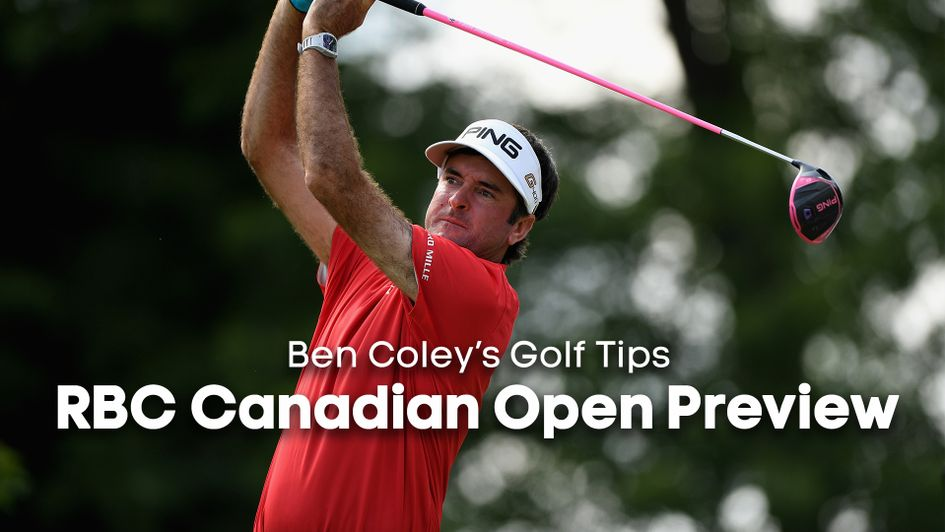 Bubba Watson makes our staking plan in Canada