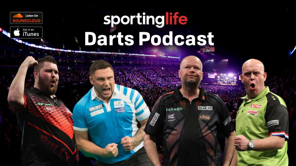Scroll down to find out how to listen to the Sporting Life Darts Podcast for free