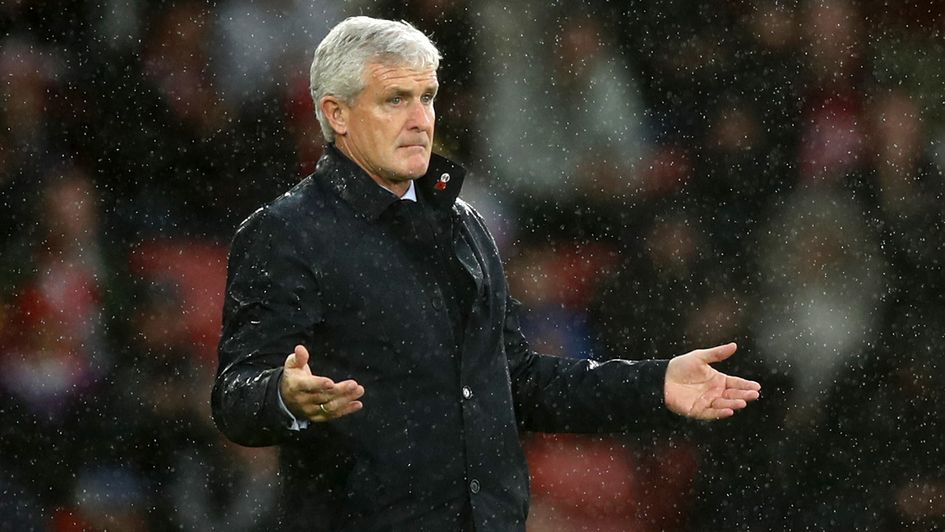 A costly goal was ruled out for Mark Hughes' Southampton