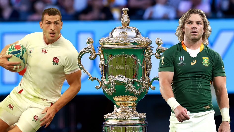 England meet South Africa in the 2019 Rugby World Cup Final