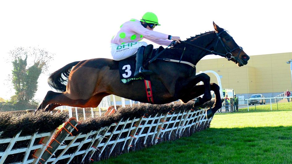Sharjah on his way to victory at Punchestown
