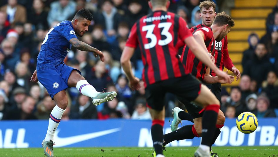 Emerson: Brazilian full-back tries his luck against Bournemouth