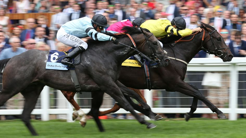 Green Power wins the Shergar Cup Sprint