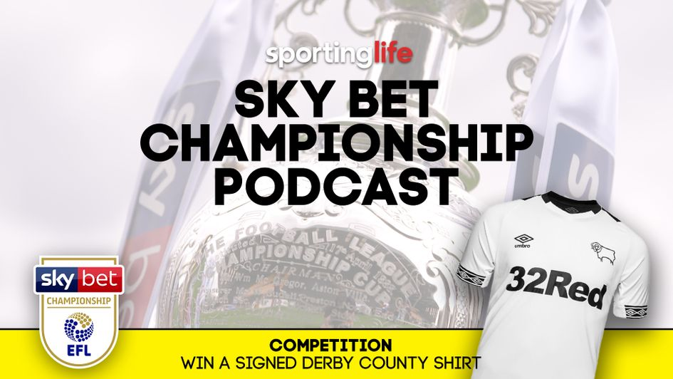 Listen to our latest Championship podcast for your chance to win a signed Derby shirt