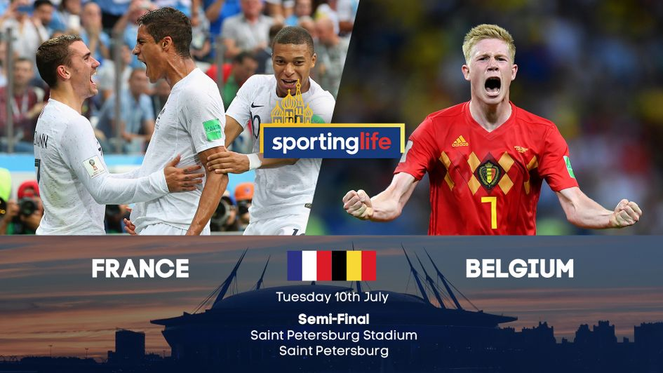 Image result for France vs Belgium Semi- final pic