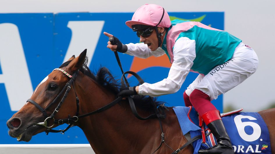 Delight for Frankie Dettori as Enable wins the Coral-Eclipse