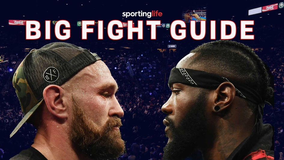 Tyson Fury takes on Deontay Wilder in Los Angeles on Saturday