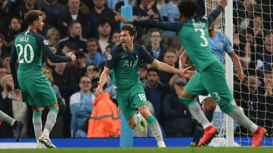 Video Man City 4 3 Tottenham 4 4 Agg Late Var Drama Helps Spurs