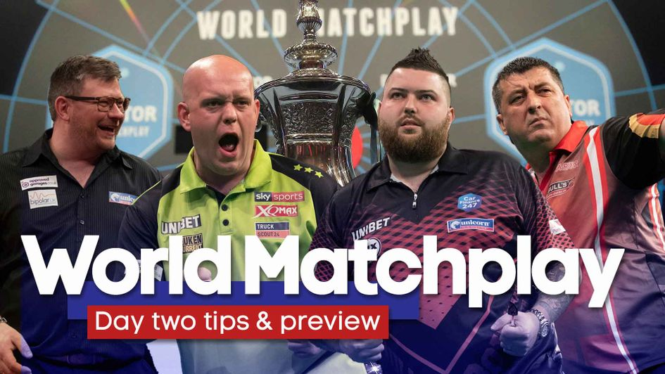 It's the second day of the World Matchplay
