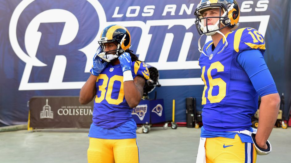 LA Rams superstars Todd Gurley and Jared Goff