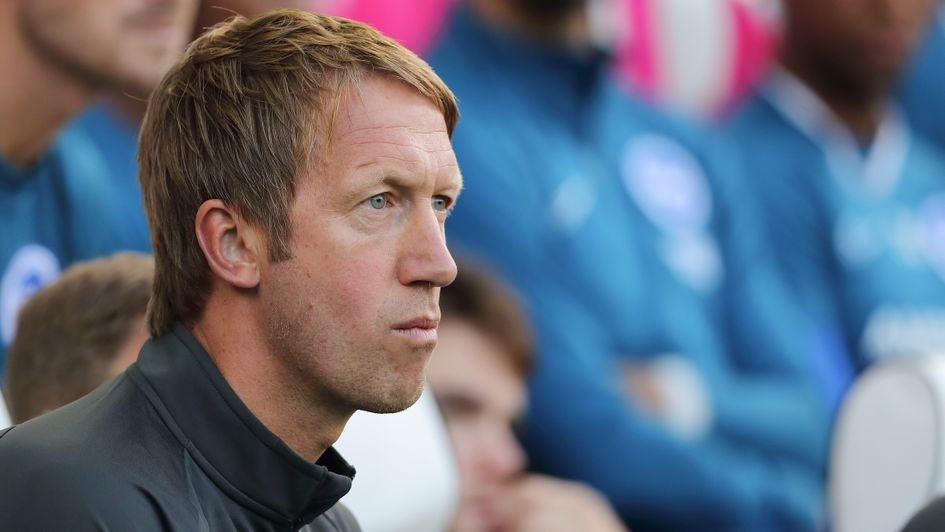 Graham Potter: New Brighton boss pictured in pre-season