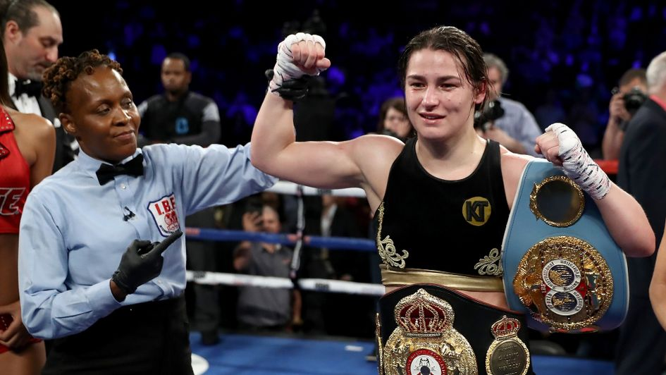 Katie Taylor put on a great performance