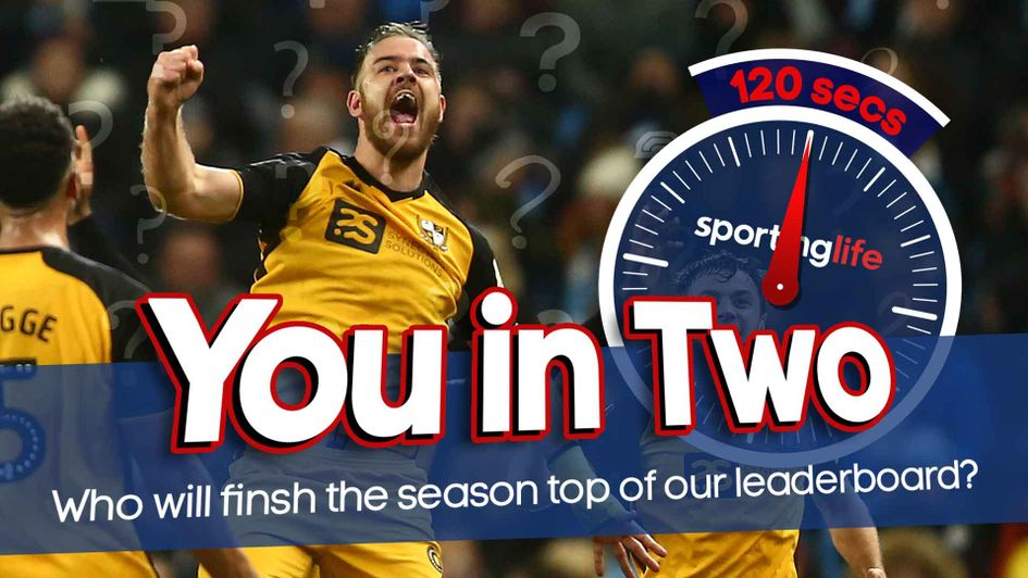 The stars of the EFL are taking part in our You In Two challenge