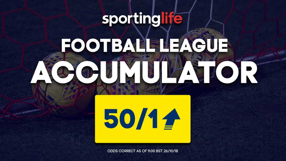 You can back the Sporting Life Accumulator at 50/1