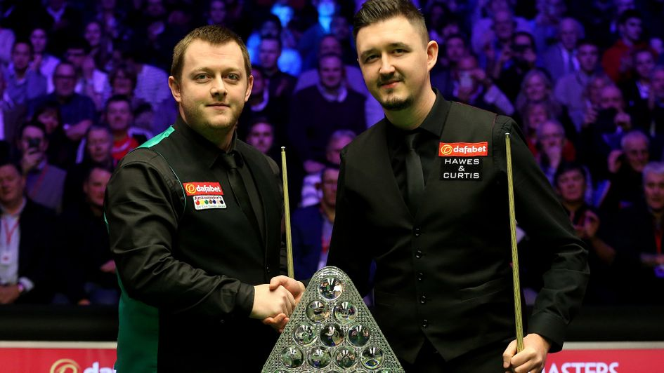 Mark Allen and Kyren Wilson before the Masters final