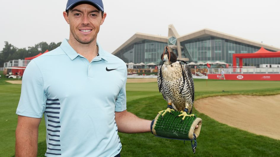 Rory McIlroy in Abu Dhabi