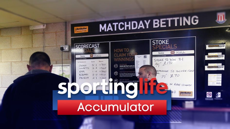 The latest Sporting Life football Accumulator