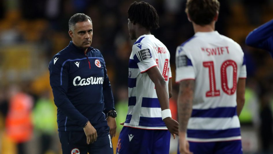 Jose Gomes: The Portuguese boss replaced Paul Clement at Reading in December 2018