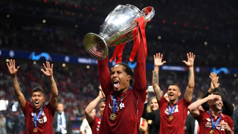 Virgil van Dijk was the man of the match in the Champions League final