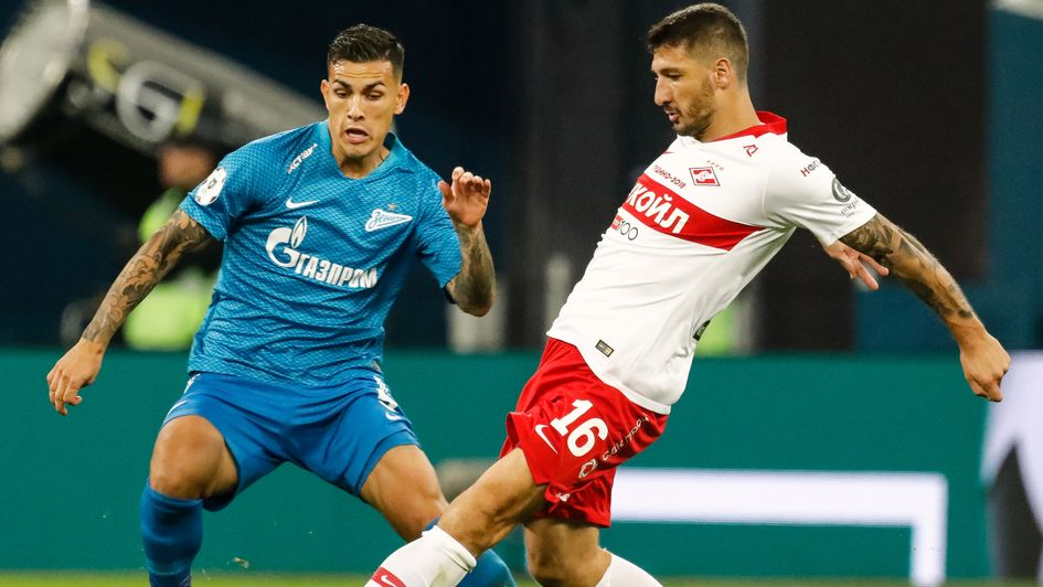 Leandro Paredes (left): A target for Chelsea and PSG