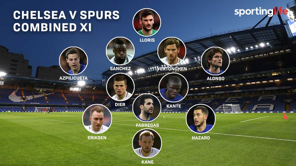 Chelsea V Tottenham Combined Xi Based On Opta Stats