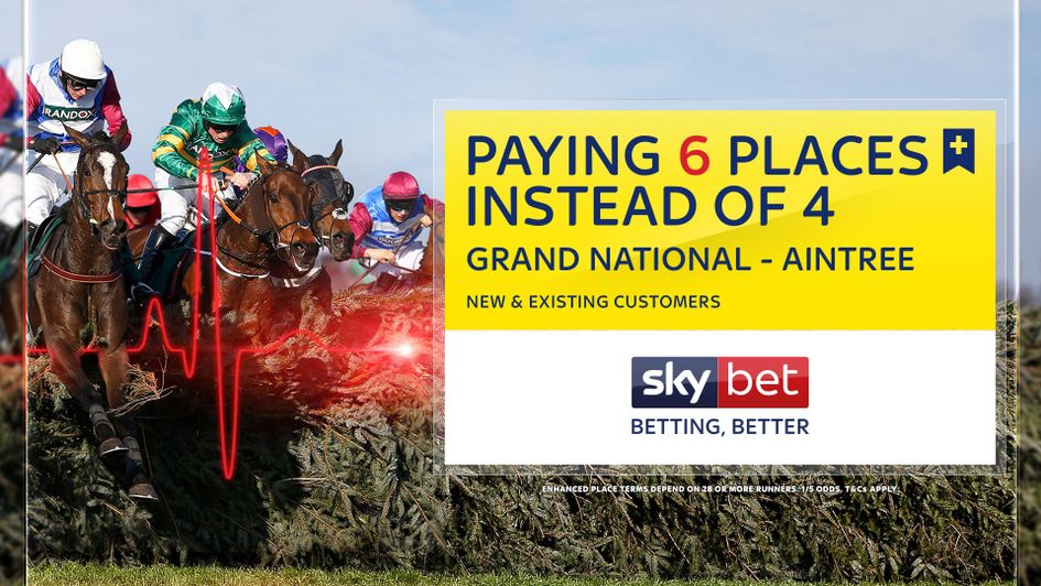 Sky Bet are paying six places on the National