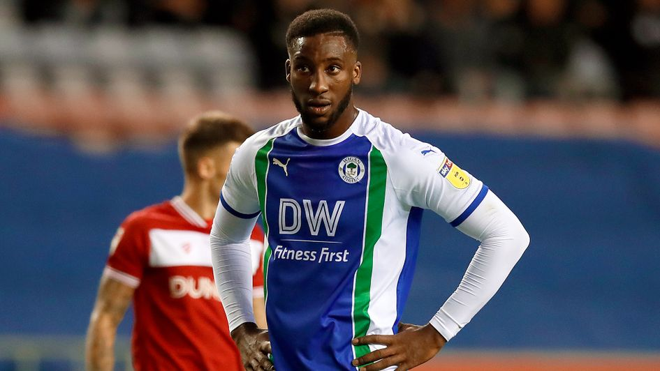 Wigan Athletic's Cheyenne Dunkley