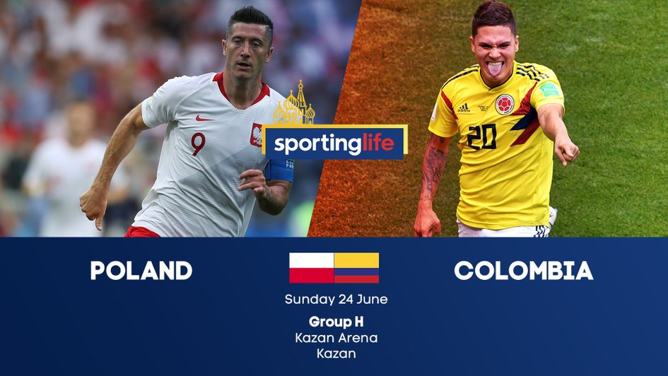 Poland v Colombia: Group H at the 2018 World Cup