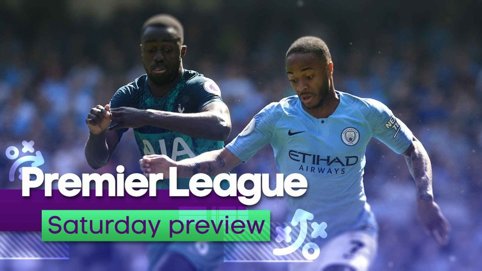 Tottenham visit Manchester City on Saturday